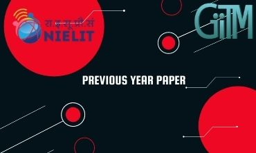 Nielit Previous Year Question Paper