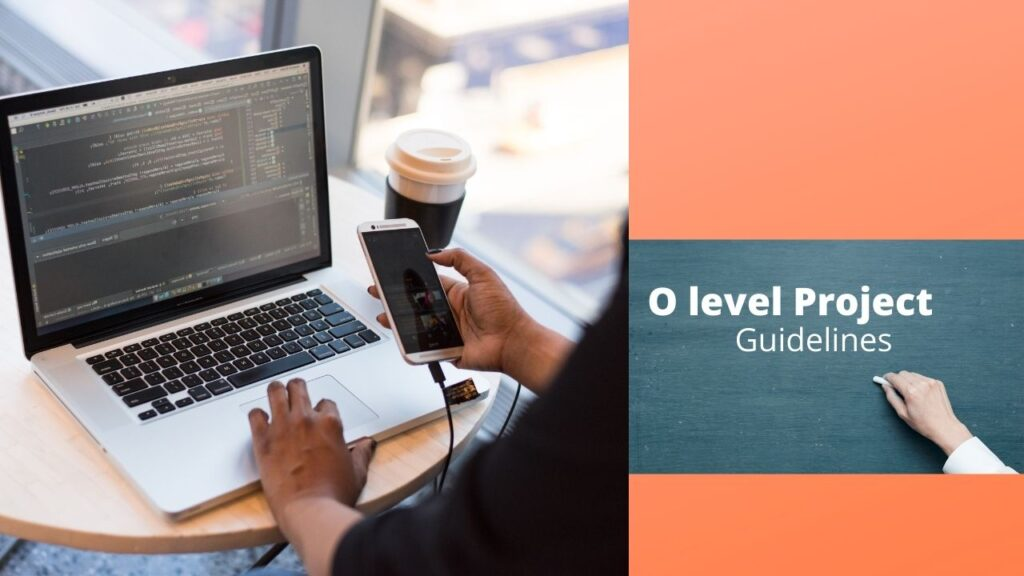 how to submit o level project